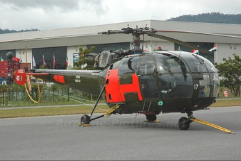 M20-17 - Malaysia - Air Force Sud Aviation SA-316 Alouette III