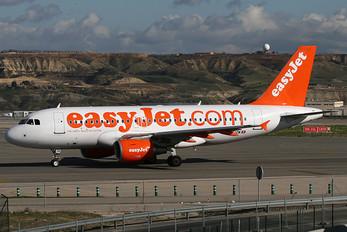HB-JZM - easyJet Switzerland Airbus A319