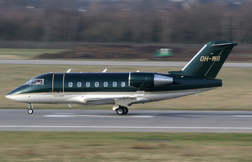 OH-WII - Jetflite Oy Canadair CL-600 Challenger 604