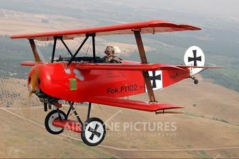 N113PC - Private Fokker DR1 Triplane