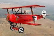 N113PC - Private Fokker DR1 Triplane aircraft