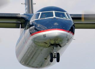 N808EX - US Airways Express de Havilland Canada DHC-8-100 Dash 8