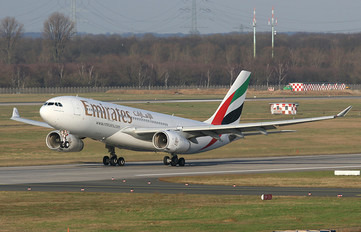 A6-EAF - Emirates Airlines Airbus A330-200