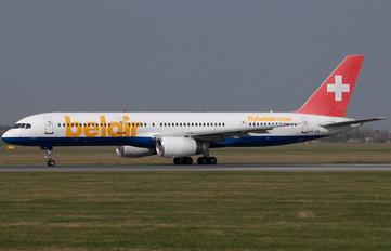 HB-IHR - Belair Boeing 757-200