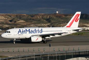 EC-JQT - Air Madrid Airbus A319