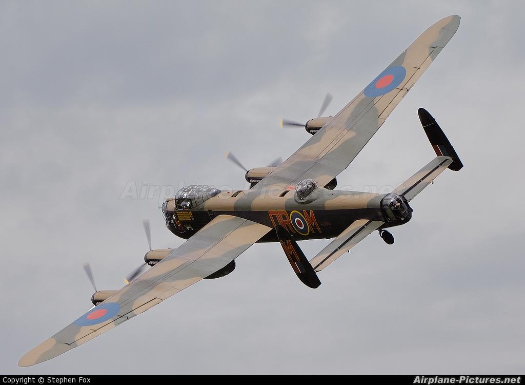 """Royal Air Force """"Battle of Britain Memorial Flight"""" PA474 aircraft at Old Warden"""