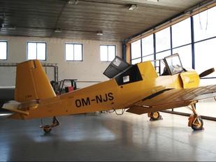 OM-NJS - Aero Slovakia Zlín Aircraft Z-37A Čmelák