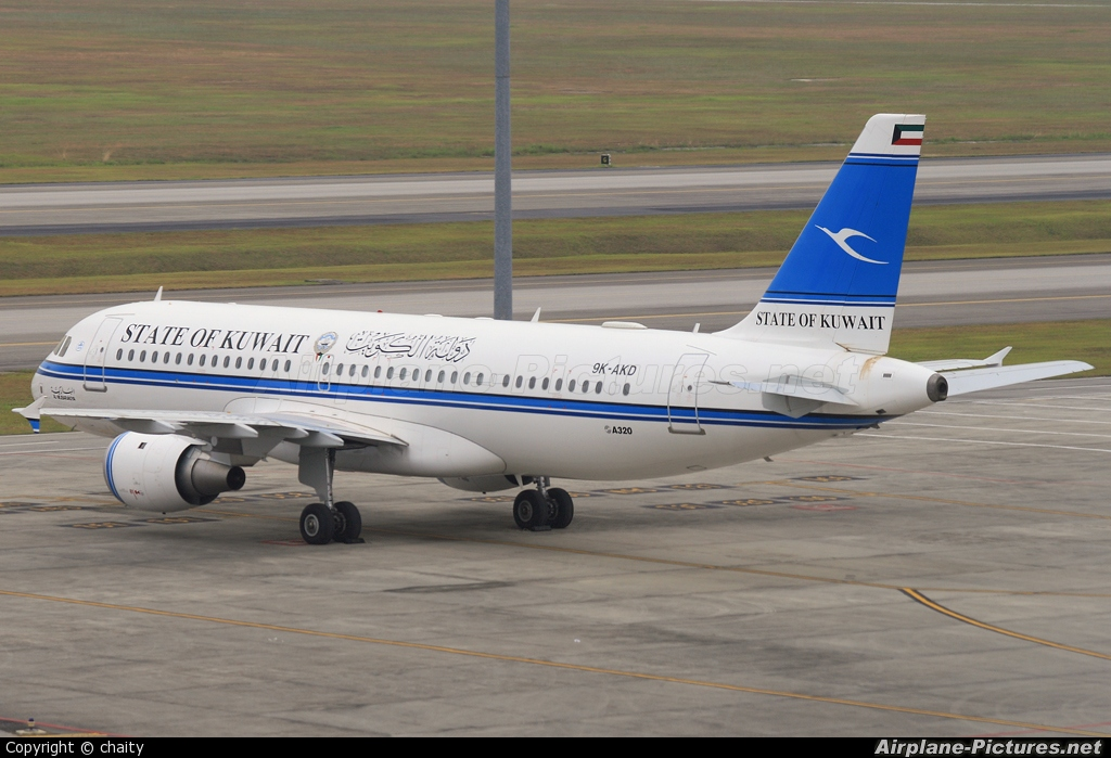 Kuwait - Government 9K-AKD aircraft at Kuala Lumpur Intl