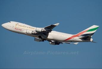 N408MC - Emirates Sky Cargo Boeing 747-400F, ERF