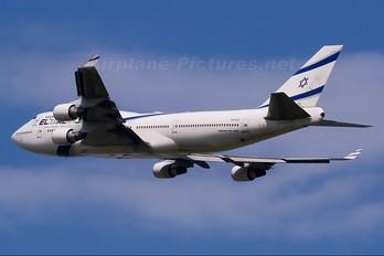 4X-ELD - El Al Israel Airlines Boeing 747-400