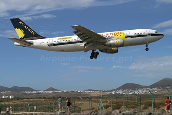 G-TTMC - Air Scandic Airbus A300