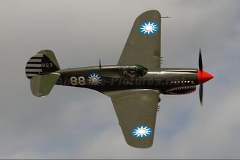 ZK-RMH - Private Curtiss P-40E Warhawk