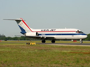 N192US - USA Jet Airlines McDonnell Douglas DC-9