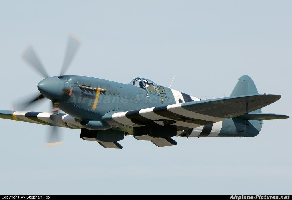 "Royal Air Force ""Battle of Britain Memorial Flight&quot PM631 aircraft at Elvington"