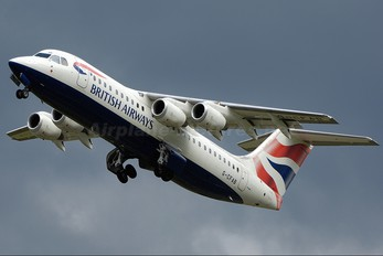 G-CFAB - British Airways British Aerospace BAe 146-100/Avro RJ70