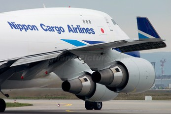 JA01KZ - Nippon Cargo Airlines Boeing 747-400F, ERF