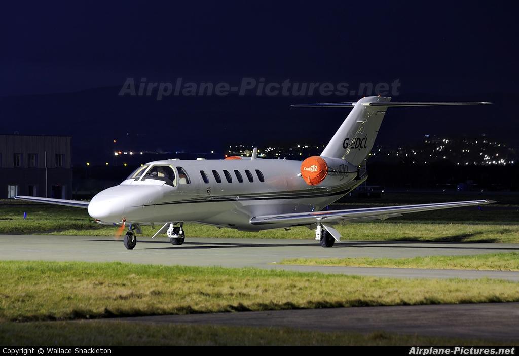 Air Charter Scotland G-EDCL aircraft at Glasgow