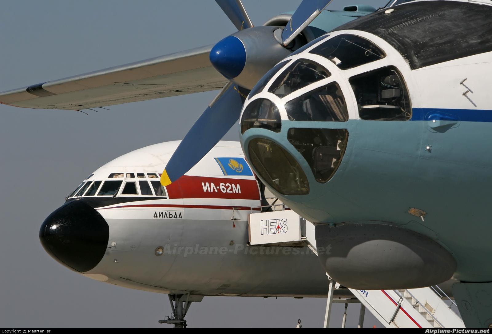 Deta Air UR-86524 aircraft at Istanbul - Sabiha Gokcen