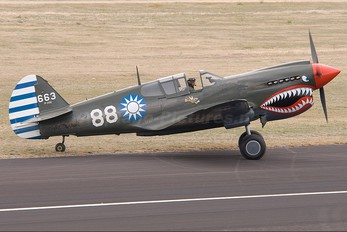 ZK-RMH - Private Curtiss P-40E Warhawk