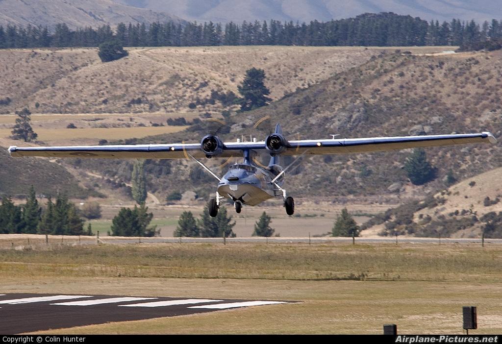 Private ZK-PBY aircraft at Wanaka
