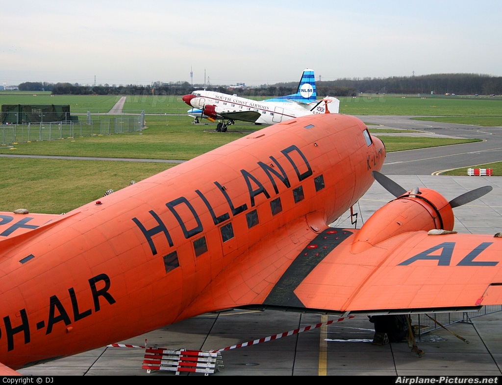 KLM PH-ALR aircraft at Lelystad