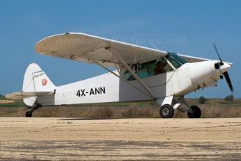 4X-ANN - Private Piper PA-18 Super Cub