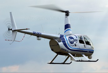 SP-SKY - TVN Robinson R44 Newscopter