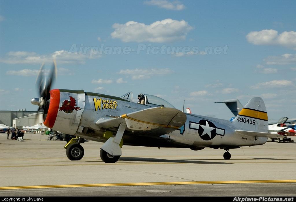 NX647D - Privat... P 47d Thunderbolt