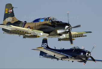 N39147 - Greatest Generation Naval Museum Douglas A-1E Skyraider
