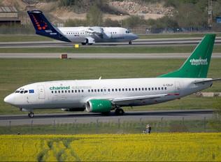 G-CELP - Channel Express Boeing 737-300