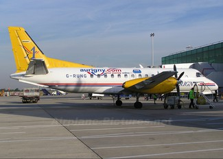 G-RUNG - Aurigny Air Services SAAB 340
