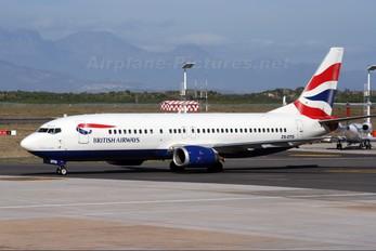 ZS-OTG - British Airways - Comair Boeing 737-400