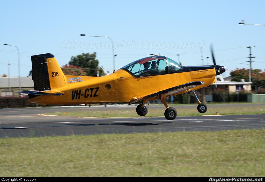 Aerotec Flight Training VH-CTZ aircraft at Toowoomba, QLD