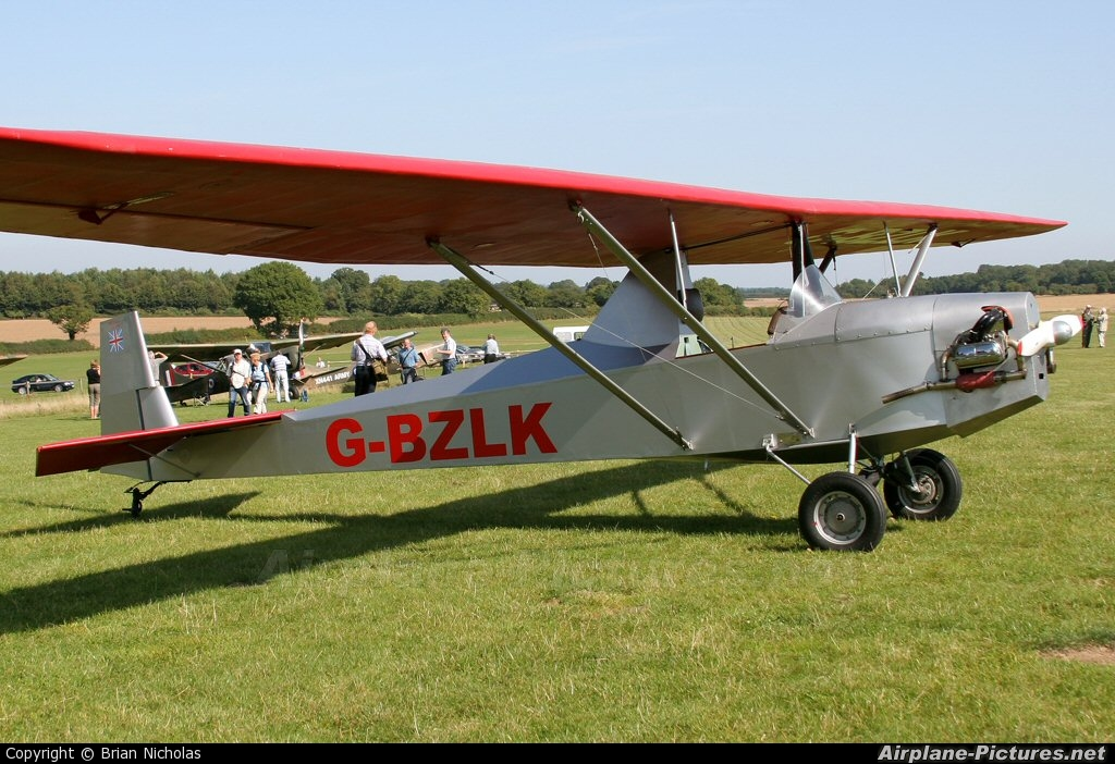 Private G-BZLK aircraft at Popham