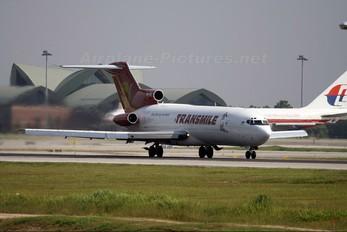 9M-TGB - Transmile Air Services Boeing 727-200F (Adv)