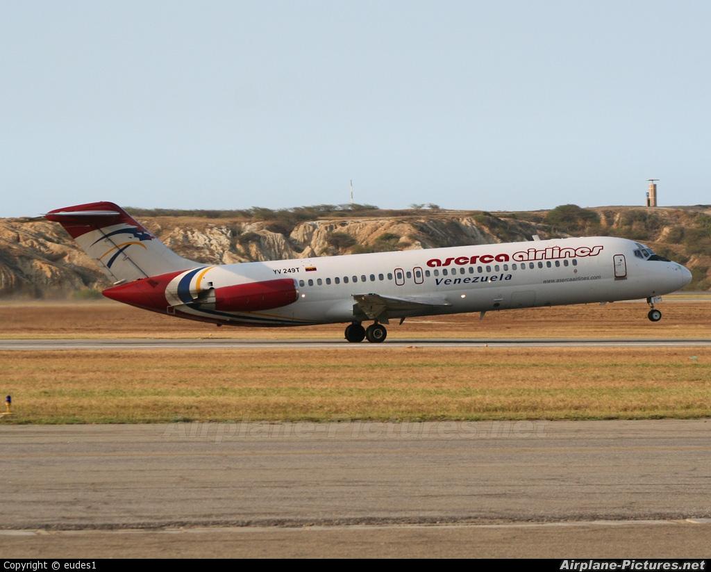 Aserca Airlines YV249T aircraft at Caracas - Maiquetia-Simon Bolivar Intl
