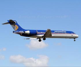 N923ME - Midwest Airlines Boeing 717