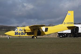 G-HEBS - Hebridean Air Services Britten-Norman BN-2 Islander