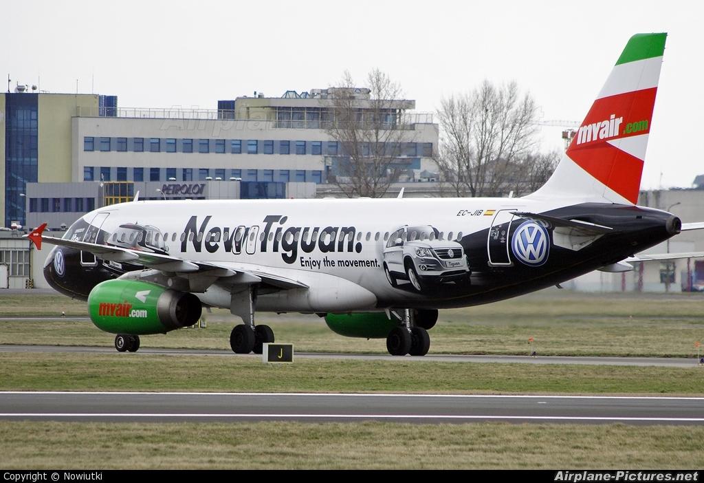 Myair EC-JIB aircraft at Warsaw - Frederic Chopin