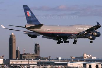 N107UA - United Airlines Boeing 747-400