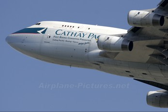 B-HOU - Cathay Pacific Cargo Boeing 747-400BCF, SF, BDSF