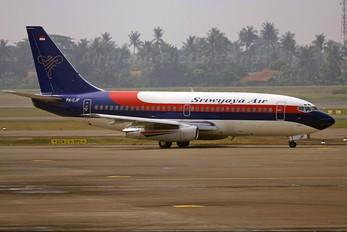 PK-CJF - Sriwajaya Air Boeing 737-200