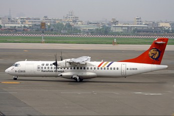 B-22805 - TransAsia Airways ATR 72 (all models)