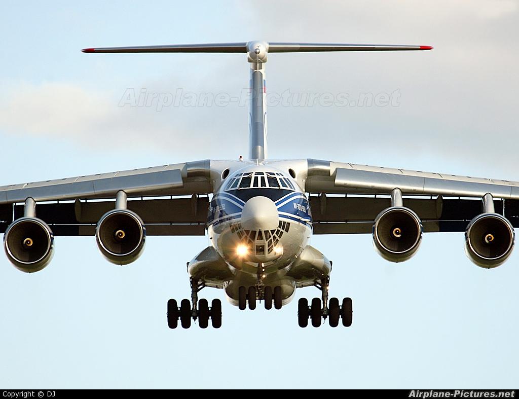 Volga Dnepr Airlines RA-76951 aircraft at Prestwick