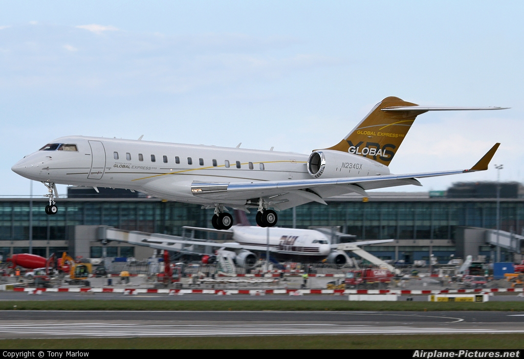 N234GX  Private Bombardier BD700 Global Express At Dublin  Photo ID 13625