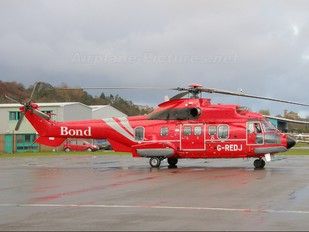 G-REDJ - Bond Offshore Helicopters Aerospatiale AS332 Super Puma