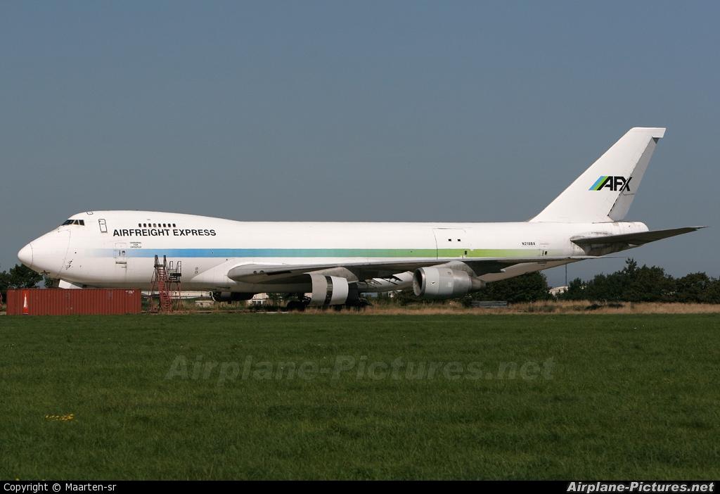 Airfreight Express N218BA aircraft at Manston