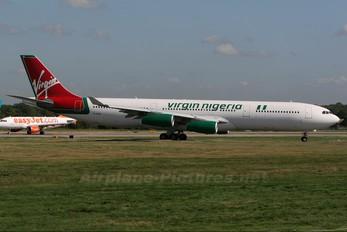 G-VSUN - Virgin Nigeria Airbus A340-300