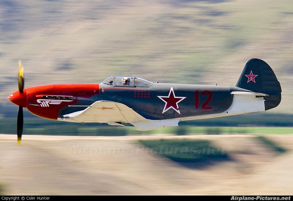 ZK-YYY - Private Yakovlev Yak-3M At Wanaka