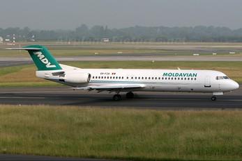 ER-FZA - Moldavian Airlines Fokker 100
